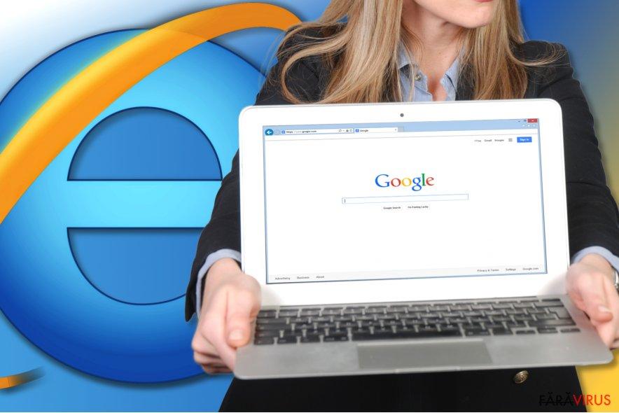 Cum să resetaţi Internet Explorer? captură de ecran