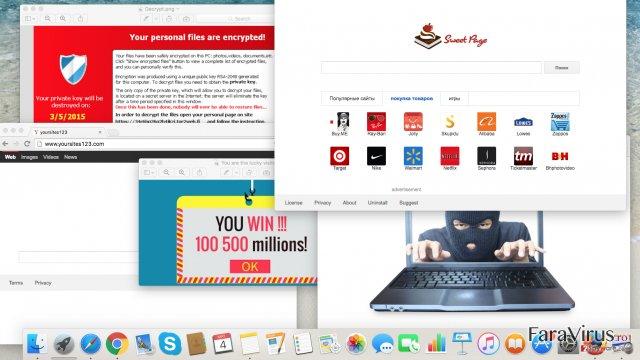 Ameninţări cibernetice de care ar trebui să vă feriţi anul acesta: browser hijackeri şi viruşi ransomware captură de ecran