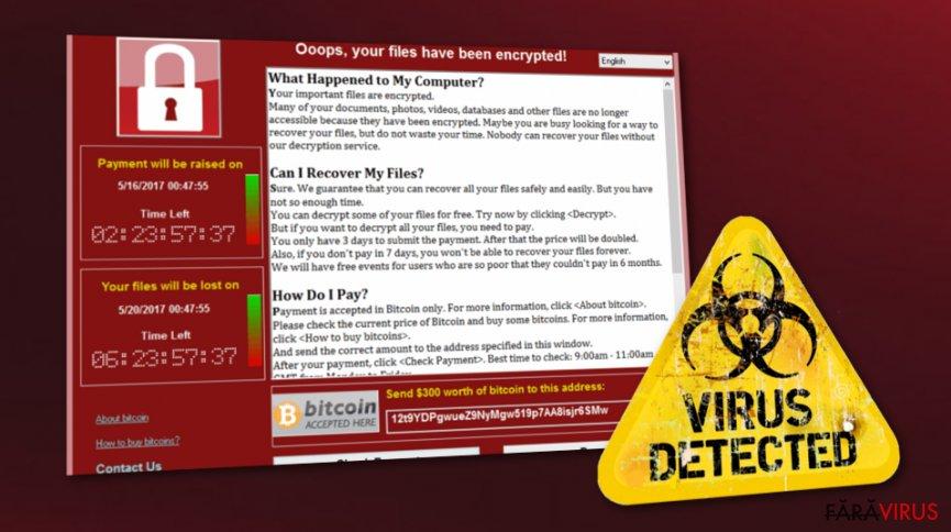 WannaCry este în viaţă. Zeci de mii de utilizatori sunt în pericol