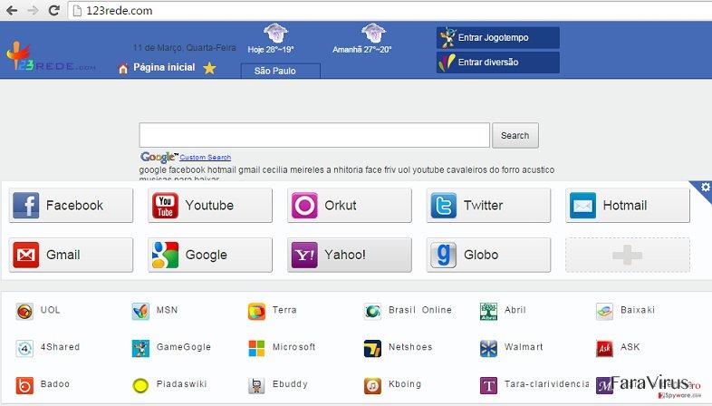 123rede.com captură de ecran