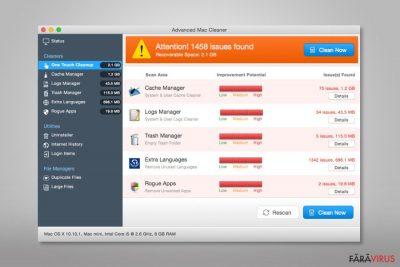 Advanced Mac Cleaner virus