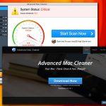 Virusul Advanced Mac Cleaner captură de ecran