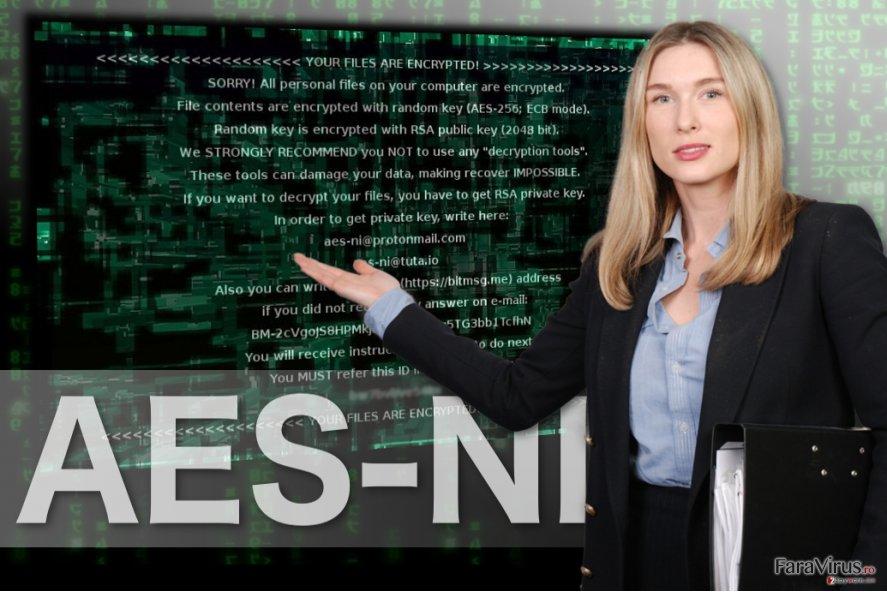 Imaginea ransomware-ului AES-NI