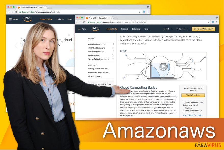Ilustrarea lui Amazonaws