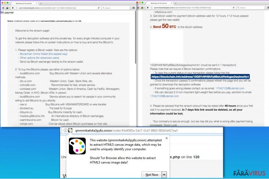 Ransomware-ul Bitpaymer