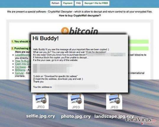 Buddy ransom note