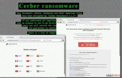 Ransomware-ul Cerber 4.1.6 atacă calculatorul