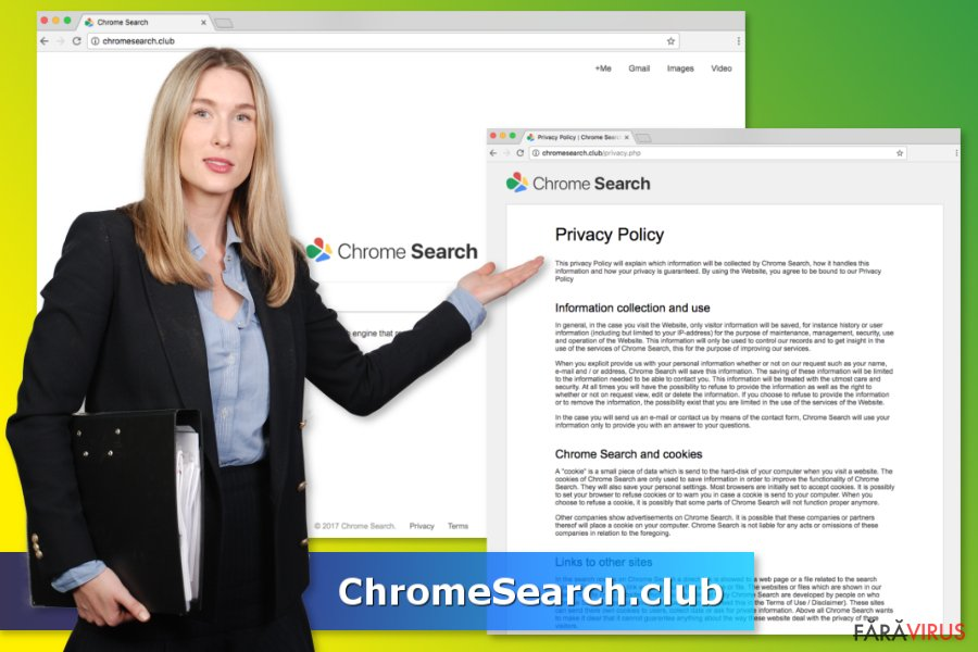 Virusul ChromeSearch.club