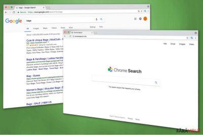 Imaginea lui Chromesearch.info