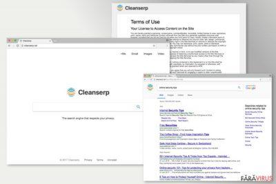 Imaginea lui Cleanserp.net
