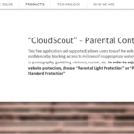 Reclame de către CloudScout captură de ecran