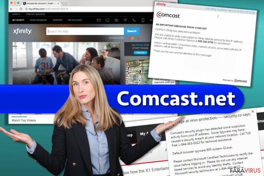Website-ul Comcast.net şi escrocheriile de care ar trebui să ştiţi