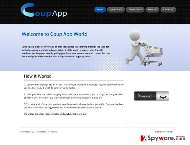 Coup App Ads captură de ecran