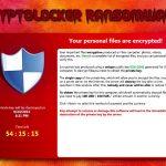 CryptoLocker captură de ecran
