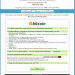 Virusul CryptoWall captură de ecran