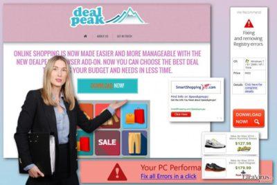 Reclamele DealPeak