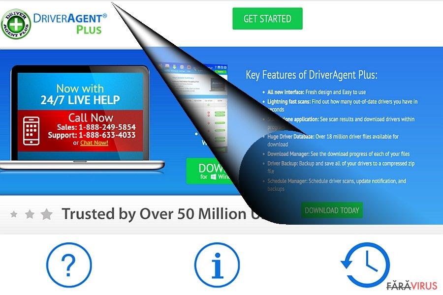 Exemplu DriverAgent Plus
