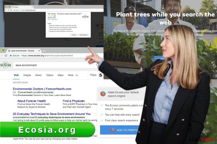 Virusul Ecosia.org