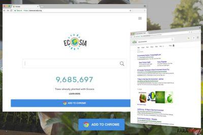 Exemplu de Ecosia.org