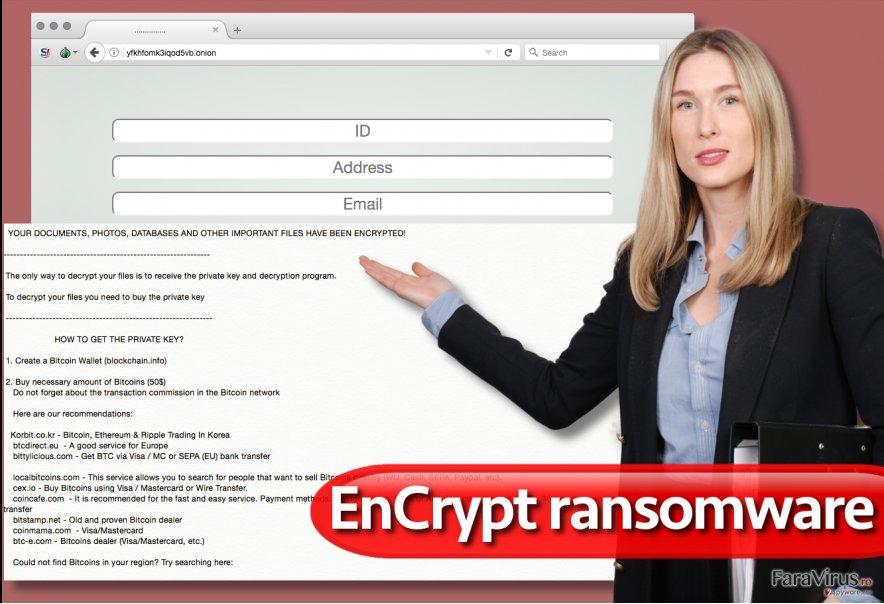 Virusul de tip ransomware EnCrypt