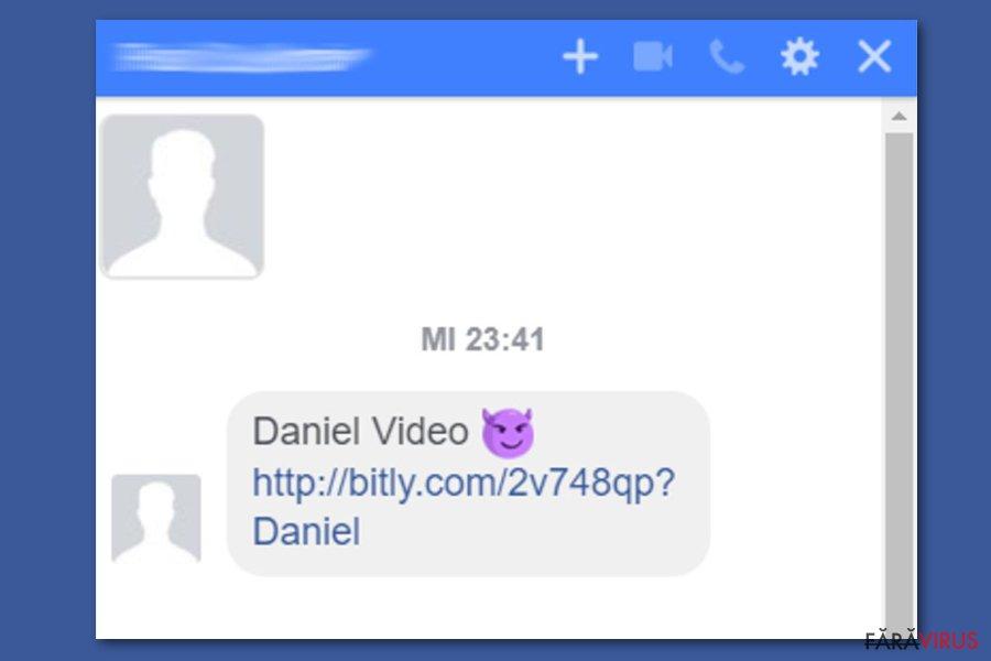 Virusul Facebook video