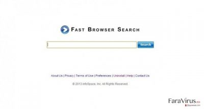 Browserul Fast Search