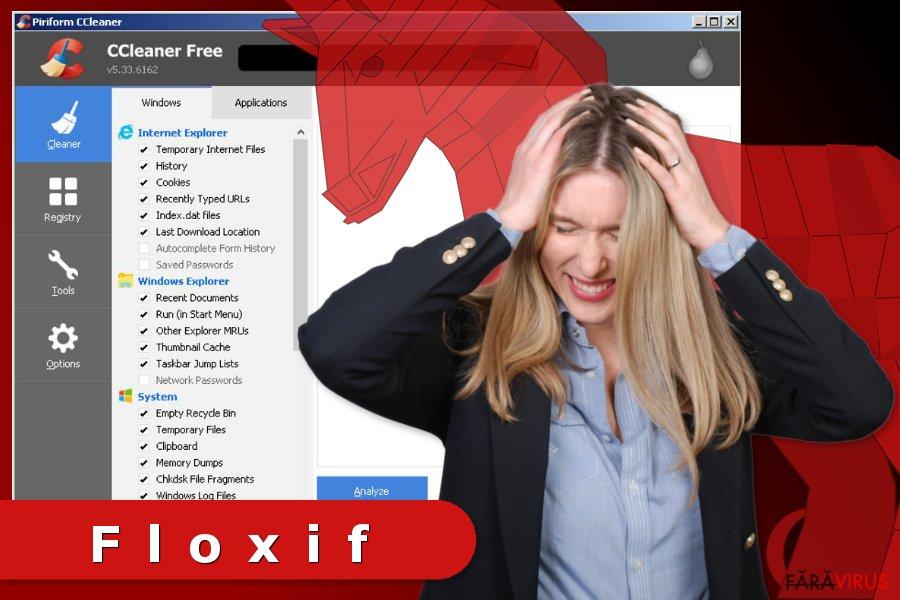 Imaginea virusului Floxif