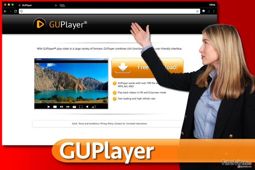 Adware-ul GUPlayer