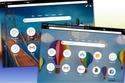 Diferite modele ale site-ului de căutare Handy-Tab.com