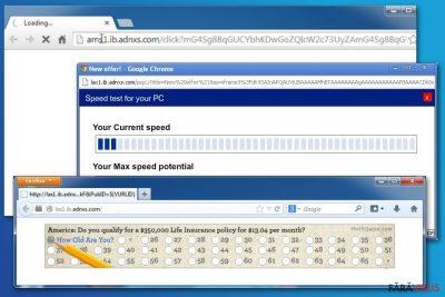 Imaginea adware-ului ib.adnxs
