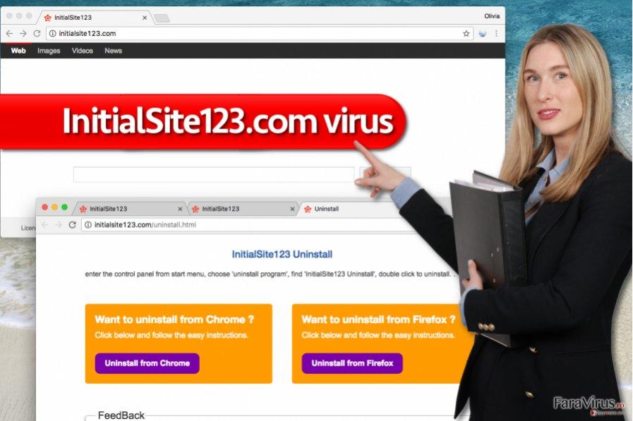 Virusul InitialSite123.com