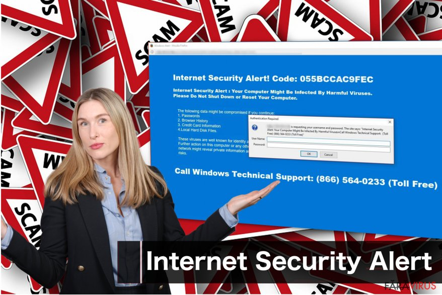 "Virusul ""Internet Security Alert"""