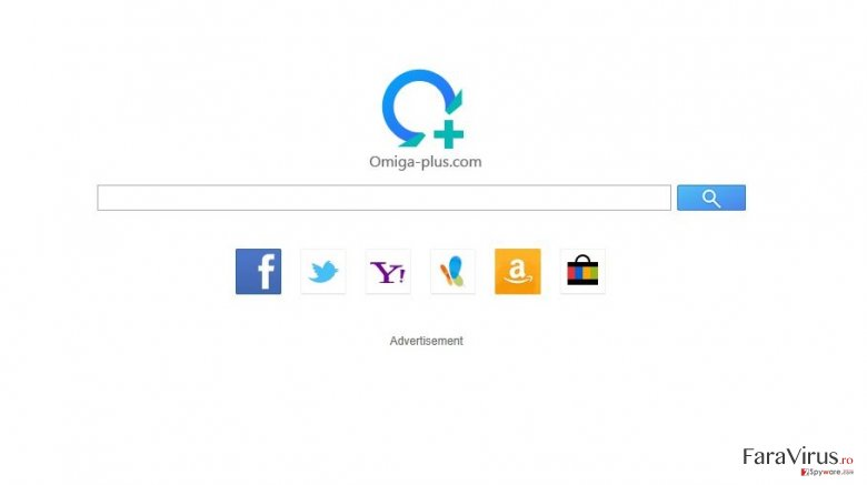 isearch.omiga-plus.com captură de ecran