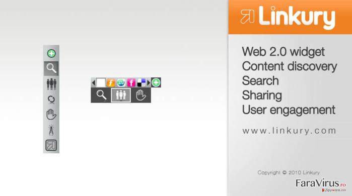 Linkury SmartBar captură de ecran