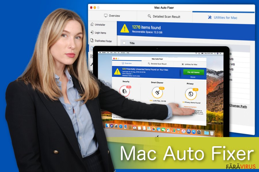Ilustrarea lui Mac Auto Fixer