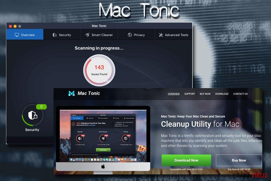 Virusul Mac Mac tonic