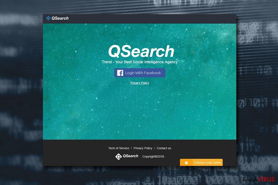 Virusul Mac QSearch