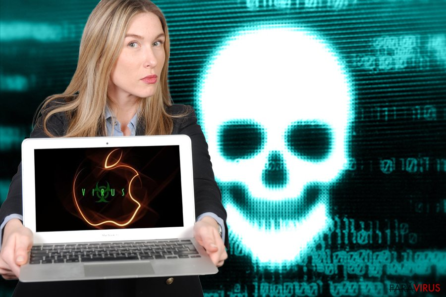 Terminarea virusului Mac