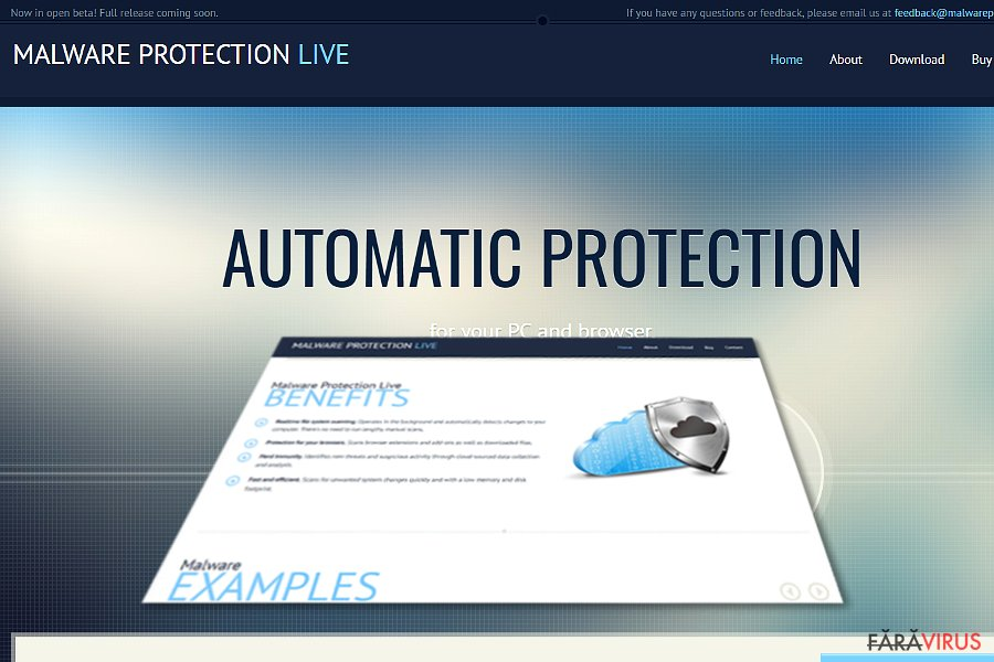 Malware Protection Live