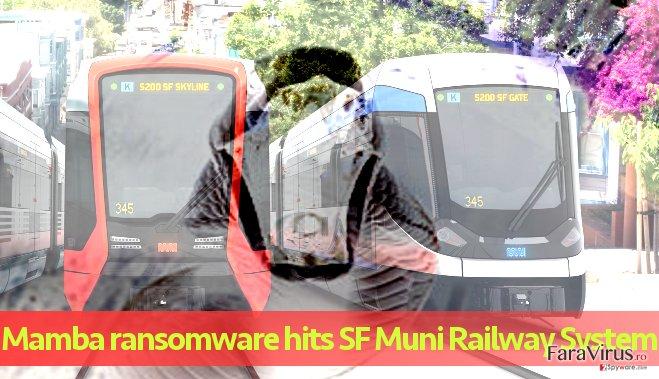 Sistemul Feroviar Muni afectat de atacul ransomware-ului Mamba
