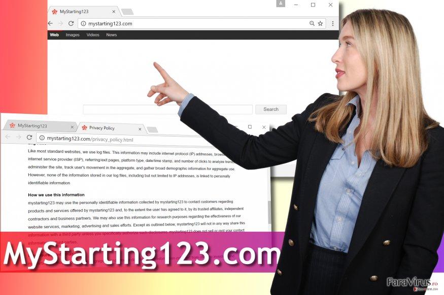 Virusul Mystarting123.com
