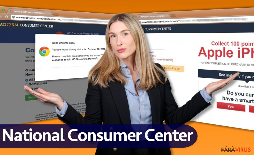Reclamele de la National Consumer Center