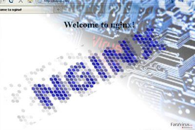 Imagine care ilustrează malware-ul Nginx