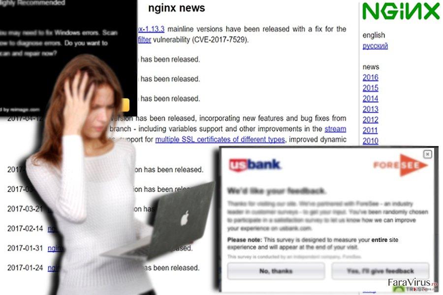 Exemplu al unui website afiliat - nginx.org