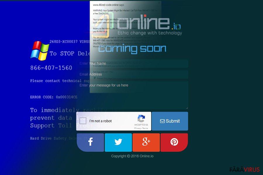 Virusul Online.io
