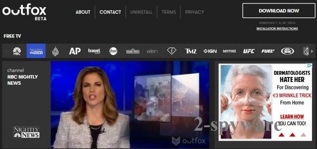 Outfox TV captură de ecran