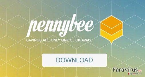 Adware-ul PennyBee captură de ecran