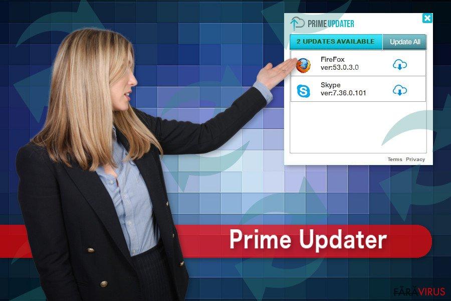 Ilustrarea lui Prime Updater