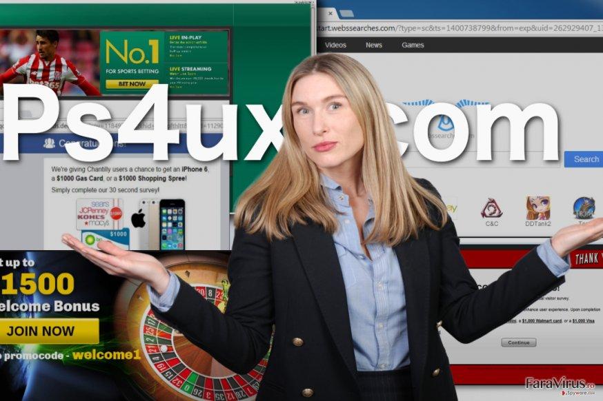 Ilustrarea virusului Ps4ux.com