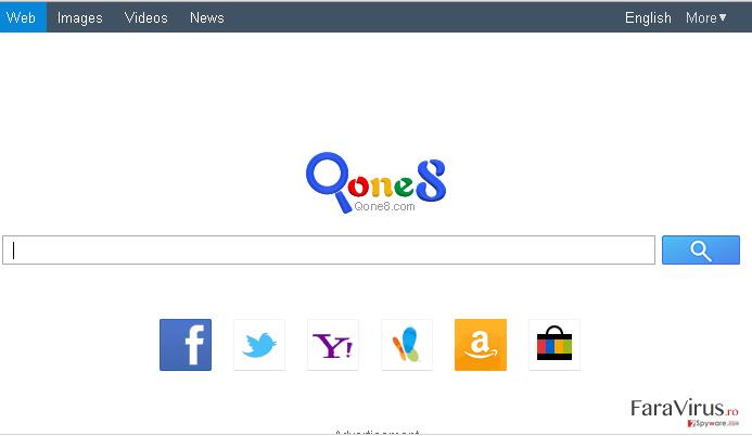 Qone8.com captură de ecran